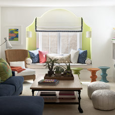 Contemporary Living Room by Lucy Interior Design