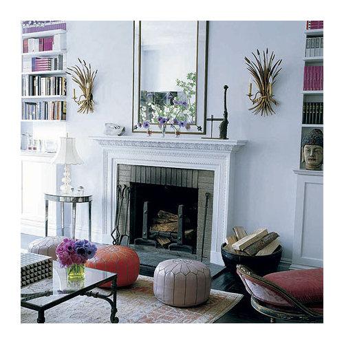 Living Room Pouf | Houzz