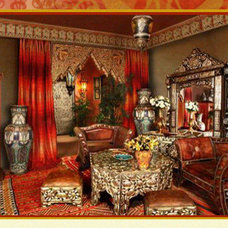 Asian Living Room Moroccan style