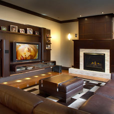 Contemporary Living Room by Proscenium Design