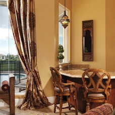Mediterranean Living Room by Myriam Payne