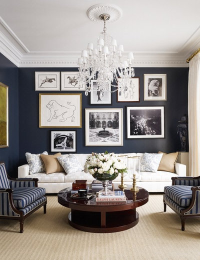 Traditional Living Room by foley&cox