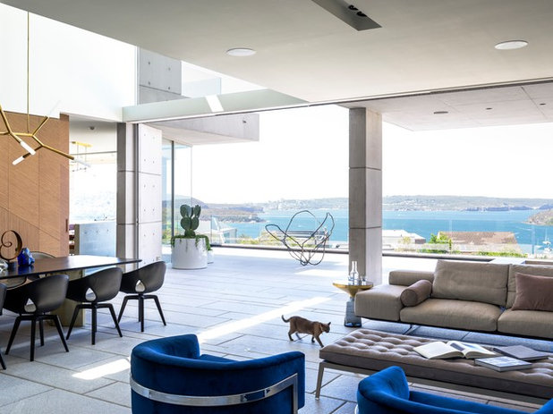 Contemporary Living Room by TKD Architects