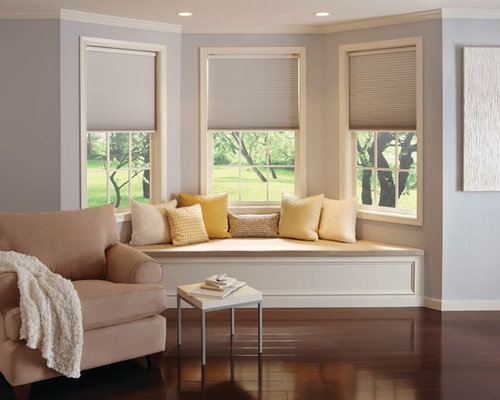 Motorized cellular shades home design ideas renovations for Budget blinds motorized shades
