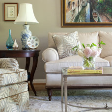 Traditional Living Room by Rachel Oliver Design, LLC