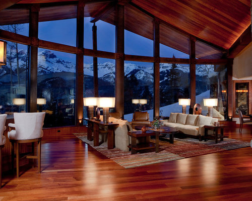 Mountain Contemporary Cabin