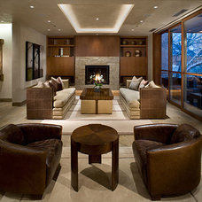 Contemporary Living Room by 186 Lighting Design Group - Gregg Mackell