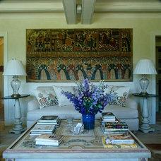 Eclectic Living Room by Lars Bolander Ltd