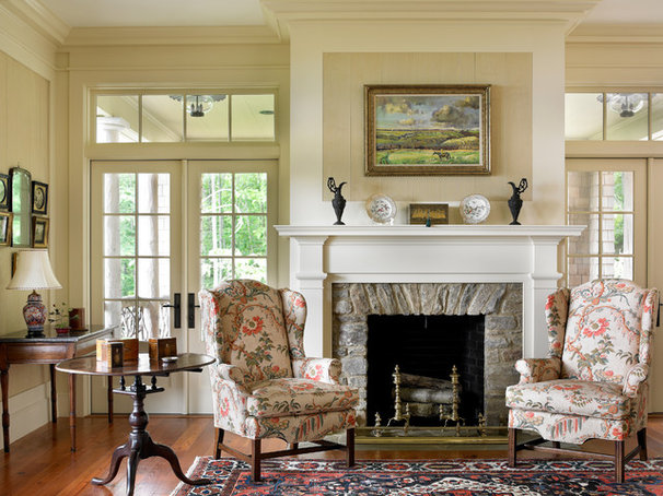 Traditional Living Room by Historical Concepts
