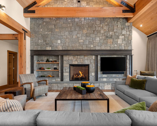 SaveEmailRustic Living Room Design Ideas Remodels Photos Houzz