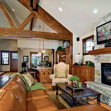 Traditional Living Room by Calista Interiors