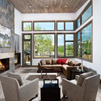 Mid Century Modern Residence Modern Living Room