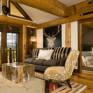 Mountain modern Living Room - Grace Home Design