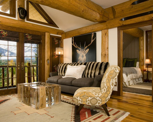 Native american art home design ideas pictures remodel and decor for Native american living room decor