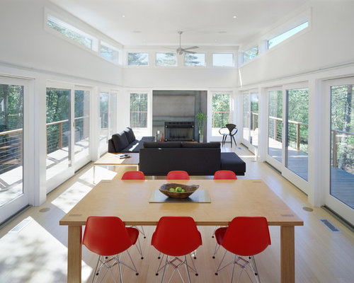 Eames chair living room