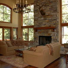 Traditional Living Room by Killeen Associates