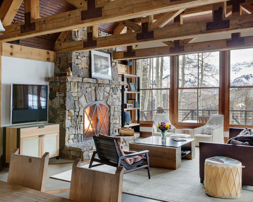 Best 30 Rustic Living Room Ideas Remodeling Photos Houzz