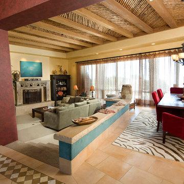Mountain Top Estate Living Room