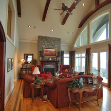 Traditional Living Room by Pippin Home Designs, Inc