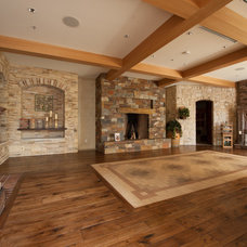 Traditional Living Room by Peninsula Building Materials