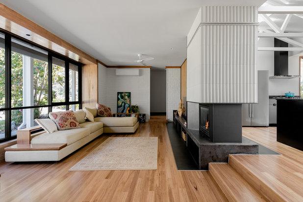 Midcentury Living Room by Benedict Design