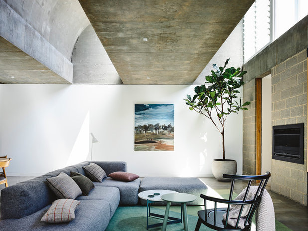 Contemporary Living Room by Architects EAT