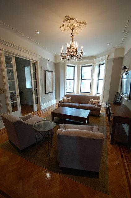Traditional Living Room Mrslimestone living room 3