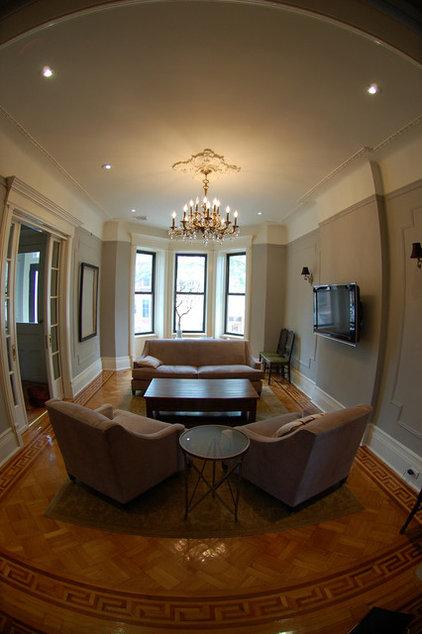 Traditional Living Room Mrslimestone living room 4
