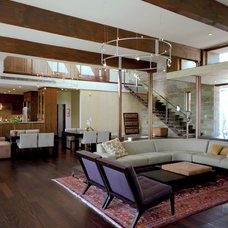 Contemporary Living Room by McKinney York Architects