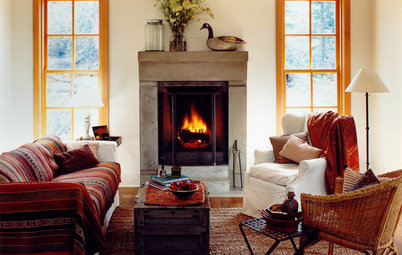 Great Seating: Cozy Up to the Fireplace