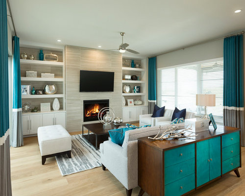 Best 15 Turquoise Living Room Ideas Amp Remodeling Pictures