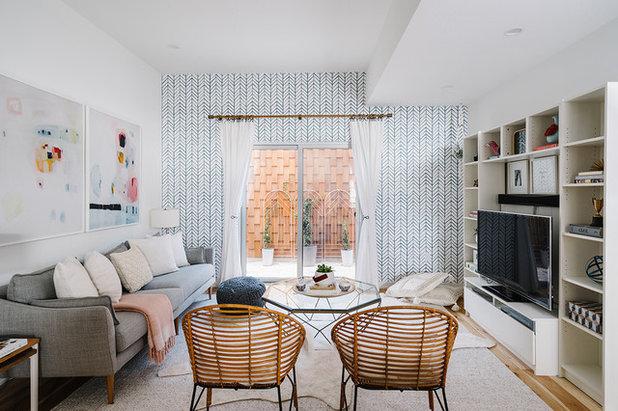 Scandinavian Living Room by Breathe Design Studio