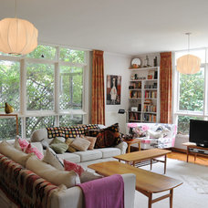 Eclectic Living Room by Luci.D Interiors