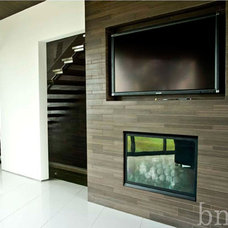 Contemporary Living Room by Barondes Morris Design