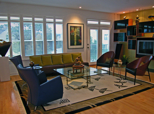 contemporary living room by Evalyn Ashmore, ASID