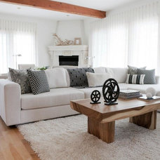 Modern Living Room by Lux Decor