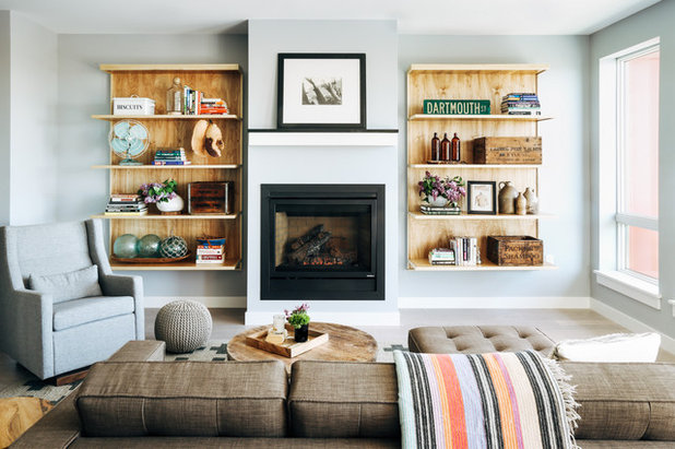 Traditional Living Room by Tyler Karu Design + Interiors