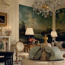 Traditional Living Room by Anne Harris Studio