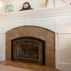 Traditional Living Room by Burgin Construction