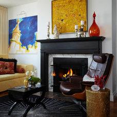 Eclectic Living Room by Michael Tavano Design
