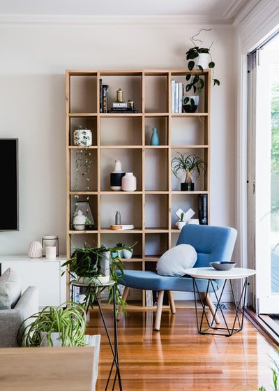 Scandinavian Living Room by Bask Interiors