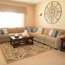 Traditional Living Room Music Room/Living Room
