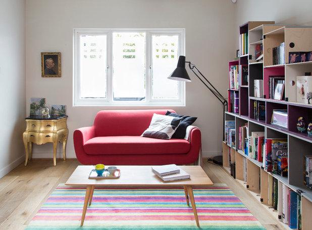 Contemporary Living Room By JLV Design Ltd