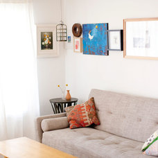 Eclectic Living Room by Annie McElwain Photography