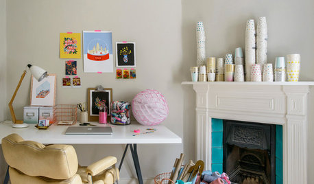 My Houzz: At Home With… Lynne Robinson of Papermash