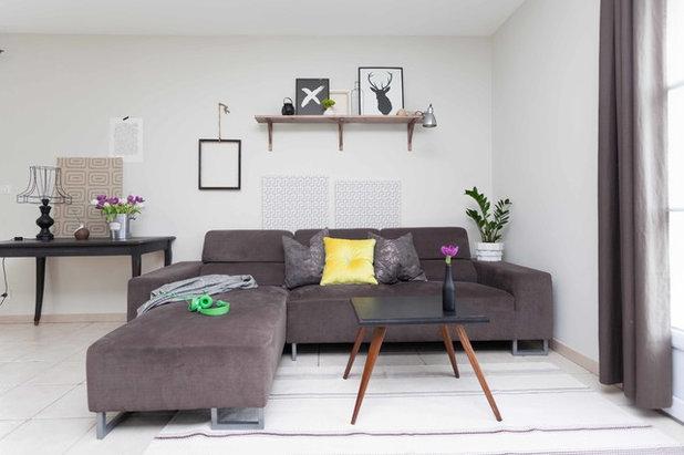 Midcentury Living Room by Hege in France