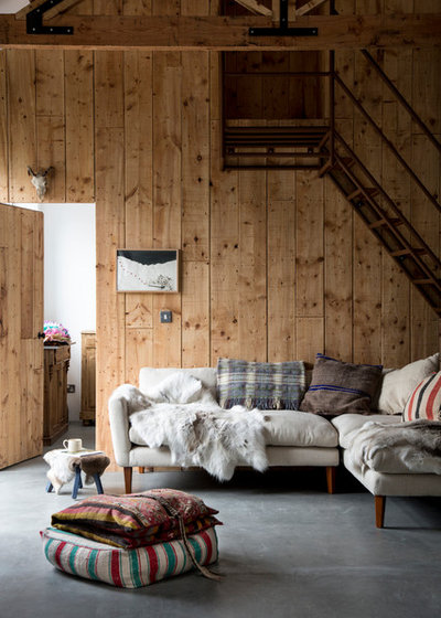 10 Of The Most Gorgeous Modern Rustic Living Rooms On Houzz