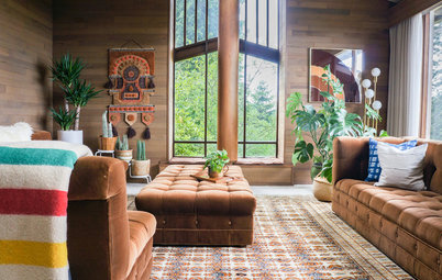 My Houzz: 1970s Boho Style in the Pacific Northwest