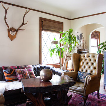 My Houzz: A 1920's Tudor Makes a Well Appointed for Two Creatives