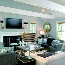 contemporary living room by Mary Prince